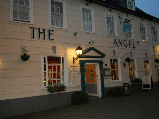 The Angel Hotel: The Angel at night