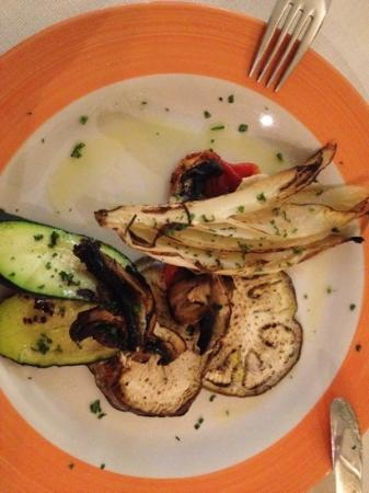 Cibo Qibo: grilled vegetables