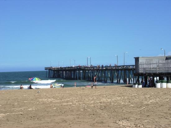 Virginia Beach Pier 15th St Picture Of Holiday Inn Suites North Tripadvisor
