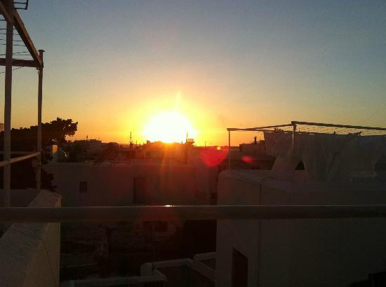 Arian Hotel: Sunset from the roof