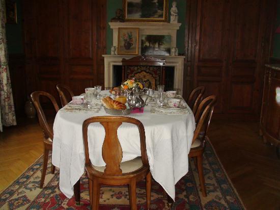 La Liniere - sala colazioni