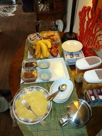 La Clepsydre : breakfast