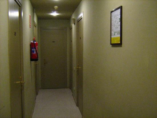 Hotel Rey Don Jaime I: corredor