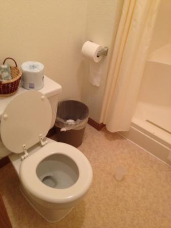 Shady Lane Cabins & Motel: حمام نظيف