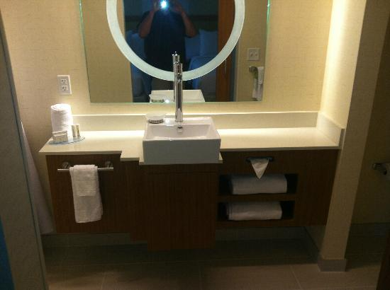Bathroom Vanities Philadelphia bathroom vanity in room - picture of springhill suites