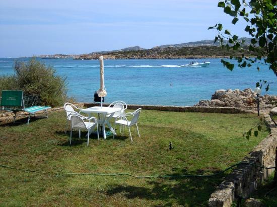 Panorama dal giardino del B&B Cala Peticchia