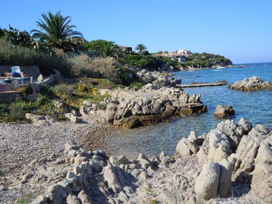 B&B Cala Peticchia: La spiaggia privata del B&B