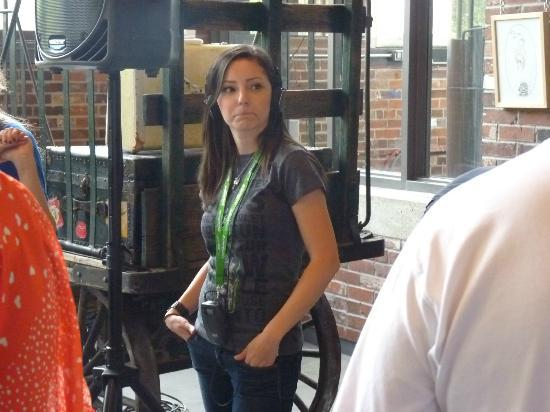Steam Whistle Brewery: Tour guide