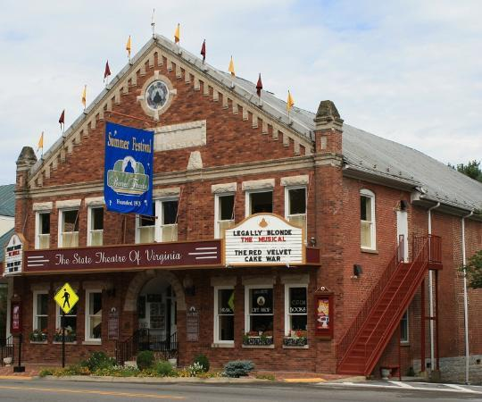 Barter Theatre: Legally Velvet Tuna Cake