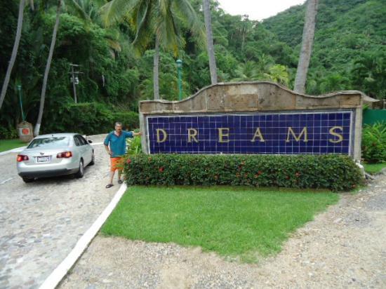 Hyatt Ziva Puerto Vallarta: Entrada al bello Dreams