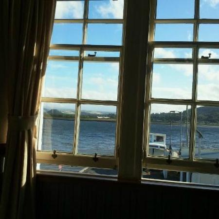 North Kessock Hotel: Here's the stunning view from my bed!