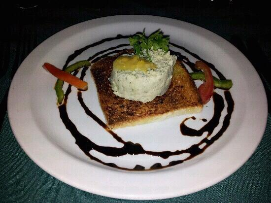 Le Grand Courlan Spa Resort: appetizer
