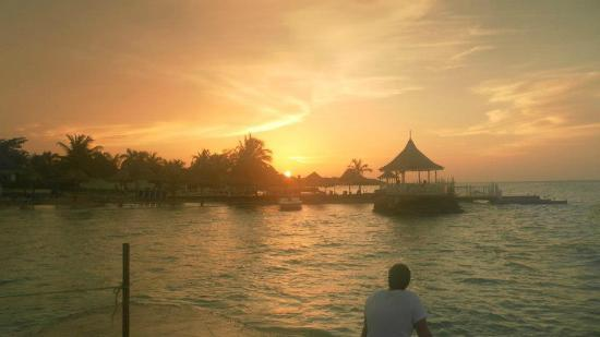 Royal Decameron Club Caribbean: Phenomenal sunset