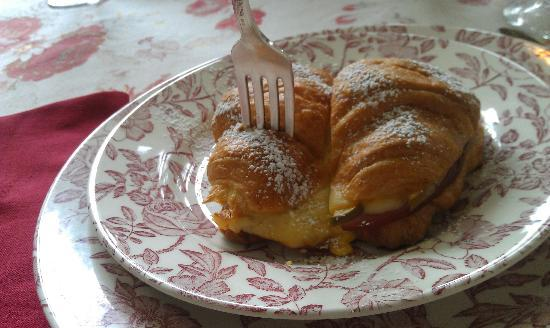 England House B&B: The breakfast croissants are my absolute favorites!