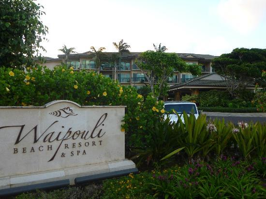 Waipouli Beach Resort: ホテル入り口