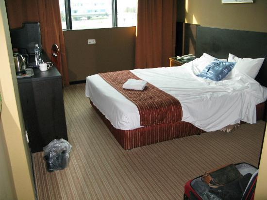 Fortuna Hotel: The king size bed was confortable