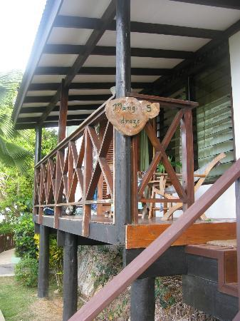Mango Lodge: La terrazza