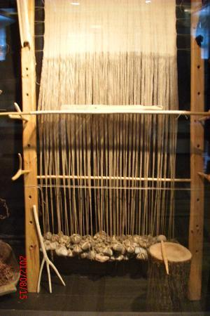 National History Museum of Latvia: Loom with stone weights