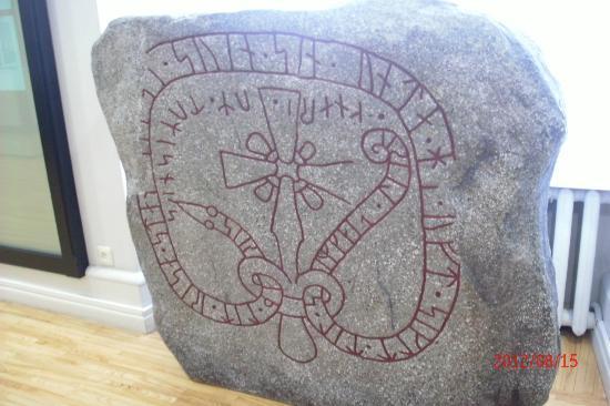 National History Museum of Latvia: Stone from Baltic Crusades in Latvia