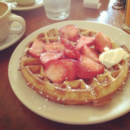 The Nucleus: Belgium waffle
