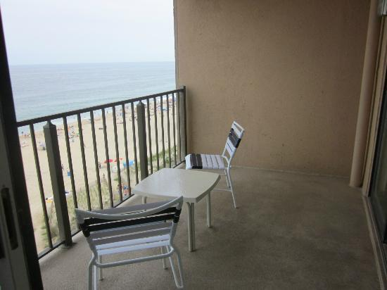 Marigot Beach Suites: balcony