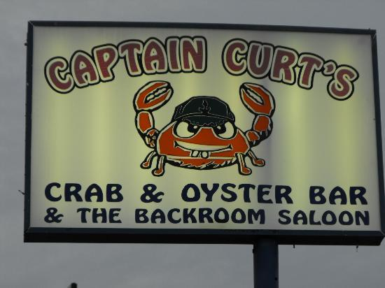 Captain Curt's Crab & Oyster Bar : They have oysters, but I don't like oysters