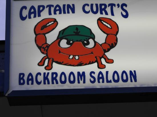 Captain Curt's Crab & Oyster Bar : Great graphic