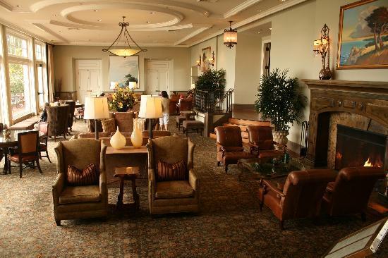Casa Palmero at Pebble Beach: Sala de estar do hotel