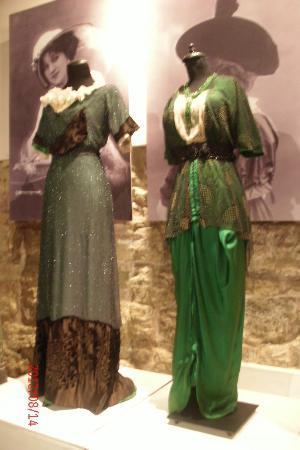 Museum of Decorative Art and Design: Art Nouveau clothing (temporary exhibit)