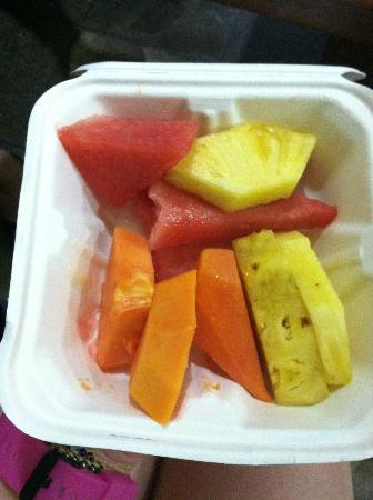 Hotel Don Carlos: Fruit for breakfast, love the watermelon, pineapple, papaya