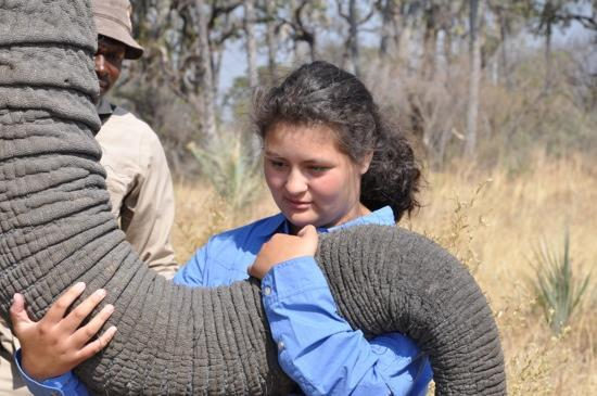 Sanctuary Baines' Camp: Really with the Elephants!