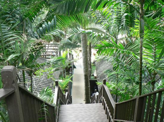 Andaman White Beach Resort: hotel grounds