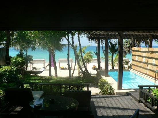 Andaman White Beach Resort View From The Pool Villa