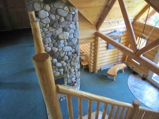 Alaska Kenai River Raven: View from outside your room