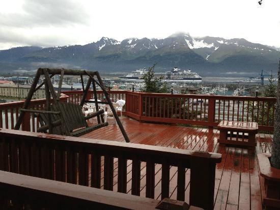 Hotel Seward: View from the front door