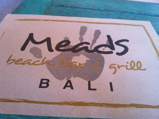 Meads Beach Bar & Grill: Meads