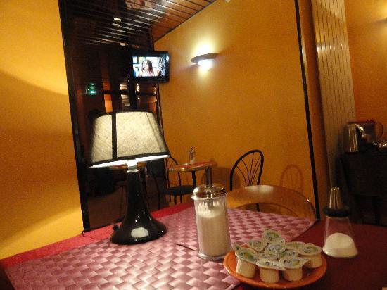 Corail Hotel: Breakfast area