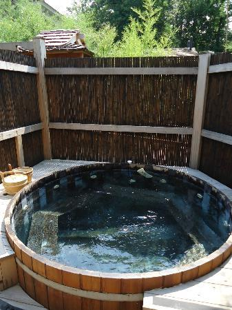 Cedar Hot Tub In Bamboo Garden Picture Of Onsen For All