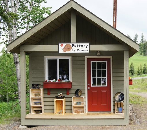 Pottery By Ramona : Pottery Studio at Bridge Lake, B.C.