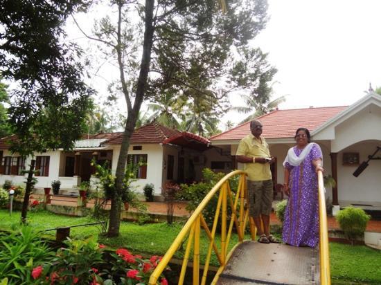 Coconut Creek Farm and Homestay Kumarakom: My parents