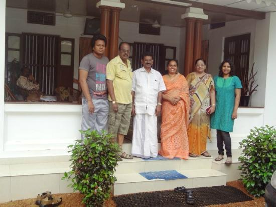 Coconut Creek Farm and Homestay: With Mr and Mrs Babu