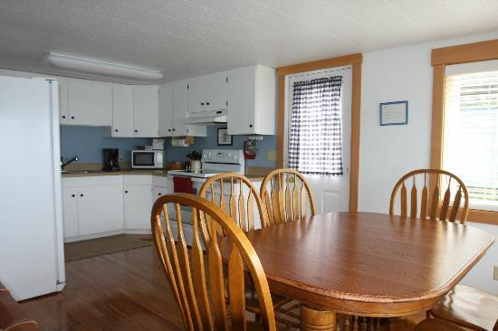 Anchor Inn by the Sea: The Whale Watch Suite has a full kitchen