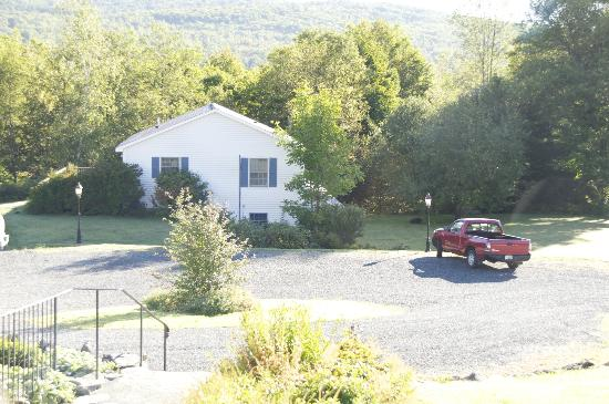 Sugar Hill Inn: Bear in the driveway!