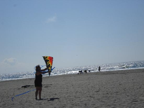 Andersen's RV Park: Kite Flying within minutes
