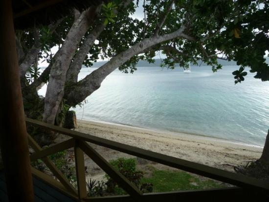 Aore Island Resort: View from verandah