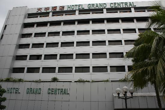 front view of hotel picture of hotel grand central singapore tripadvisor. Black Bedroom Furniture Sets. Home Design Ideas