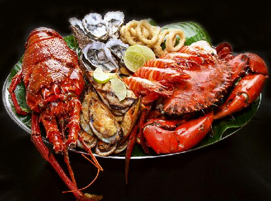 Chill Restaurant: Seafood Platter