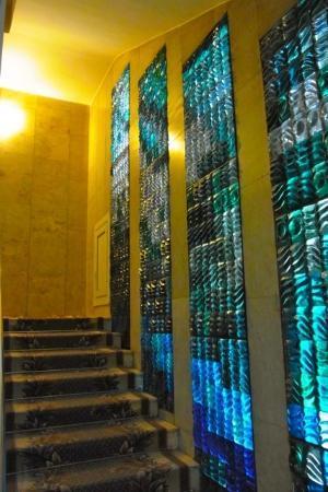 Polesye Hotel : 階段装飾