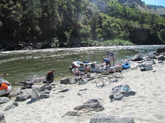 Hells Canyon Raft 사진