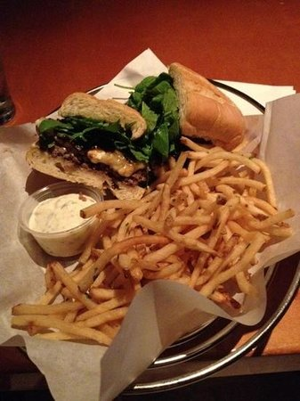 Father's Office: the office burger and frites